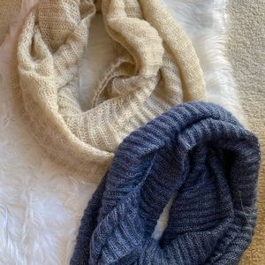 Set of 2 infinity scarves scarf